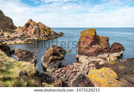 Rocky Shoreline, St Abbs Head, Scottish Borders, Scotland
