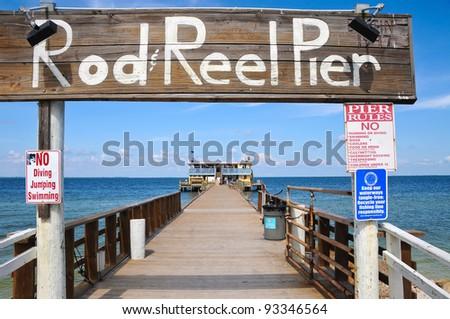 Rod and Reel Public Fishing Pier