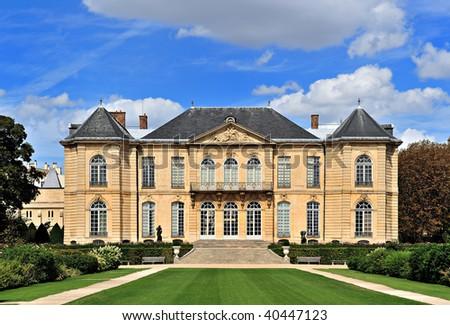 Rodin Museum, Paris, France - stock photo