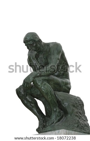Rodin sculpted The Thinker