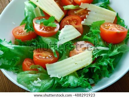 Roka Salata Greek Rocket Salad Stok fotoğraf ©