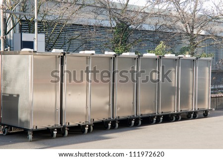 Roll cages of stainless steel