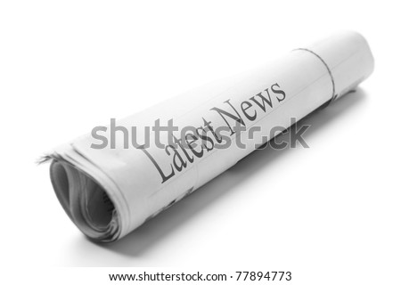 Roll of newspapers