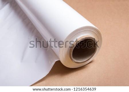 Roll of pallet polythene film