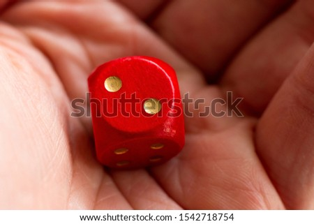 Roll the dice - two diced in hand #1542718754