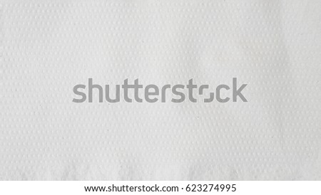 Roll white paper towels background