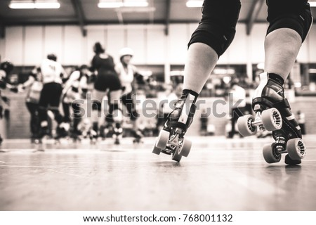 Roller derby competition