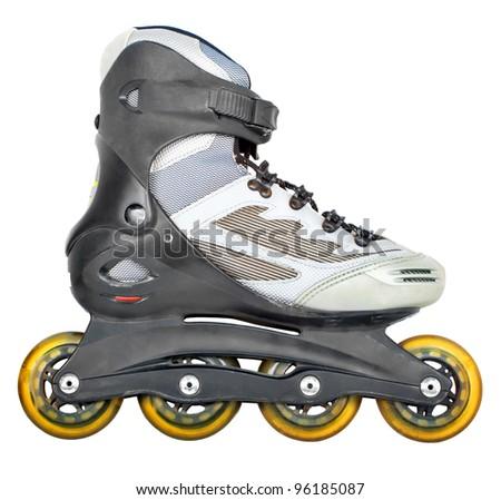 roller skates isolated on white