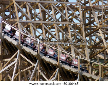 rollercoaster troy (toverland sevenum, the netherlands) | ez canvas