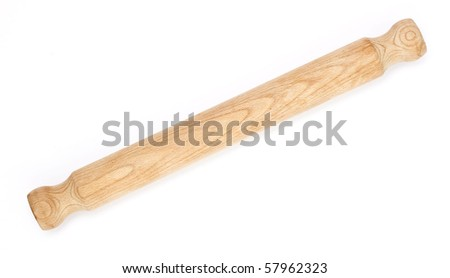 Rolling-Pin on white background
