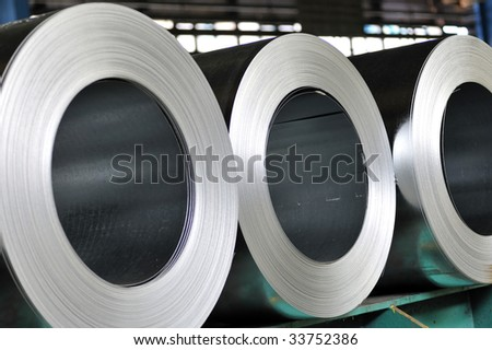 rolls of steel sheet, Cold rolled steel coils