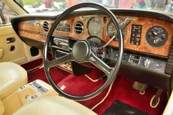Rolls & Royce interior
