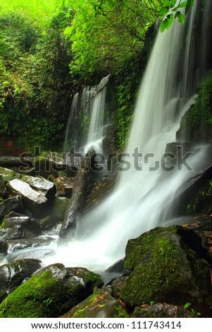 Rom Klao Paradon Waterfall in Phu Hin Rong Kla National Park, Thailand