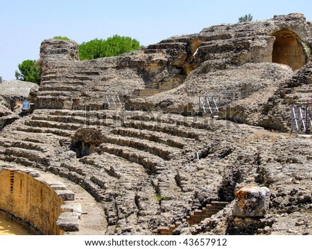 Roman amphitheater of Italica