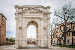 "Roman archway ""dei Gavi"" in"