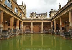 Roman Baths - Bath, Somerset, United Kingdom - September 2015