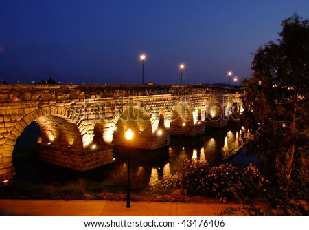 Roman bridge of Merida