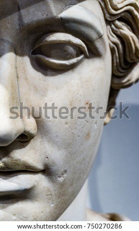 Roman copy of greek statue