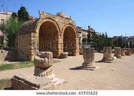 Roman Forum in Tarragona