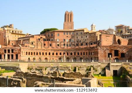 Roman forum, Rome, Italy - stock photo
