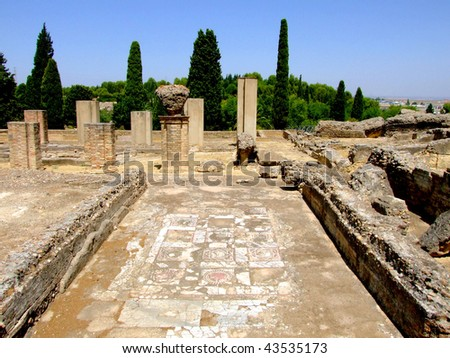Roman ruins of Italica