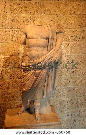 Roman Statue without Head