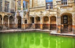 Roman terms in Bath historical complex
