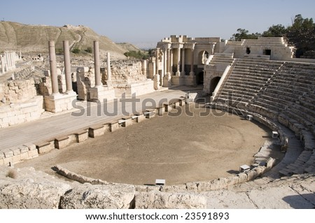 Roman Theater at Beit She'an, Israel