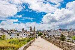 Roman Walls of Lugo in Spain - A UNESCO World Heritage Site