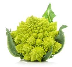 Romanesco broccoli, or Roman cauliflower