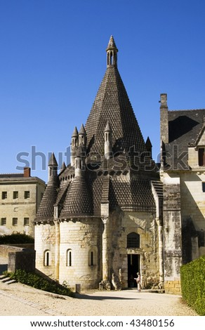 Romanesque kitchens of Abbaye de Fontevraud, France