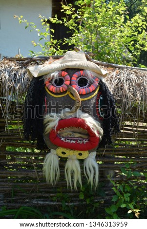 Romania Traditional Masks #1346313959