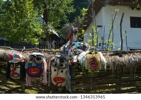 Romania Traditional Masks #1346313965