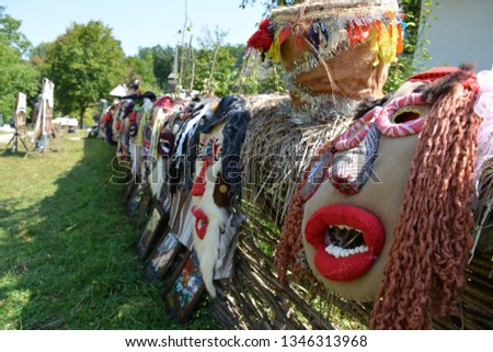 Romania Traditional Masks #1346313968
