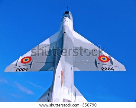 Romanian jet fighter