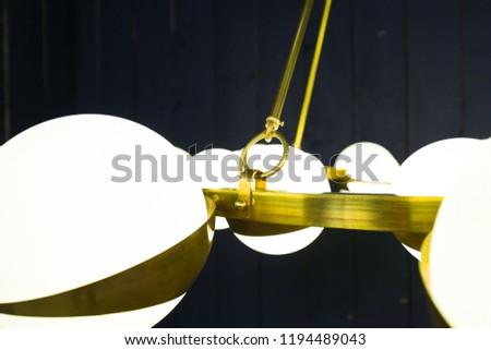 Romano Sputnik with Murano glass