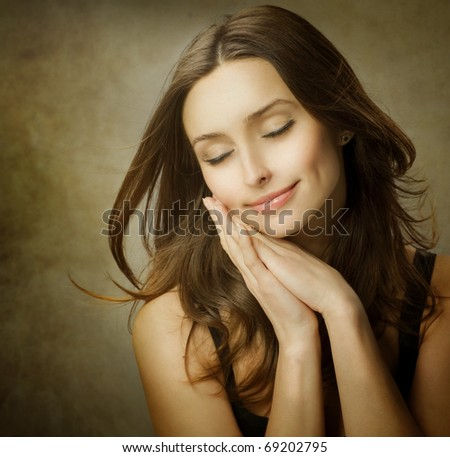 Romantic Beauty - stock photo