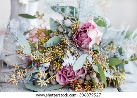 romantic bouquet #306879527