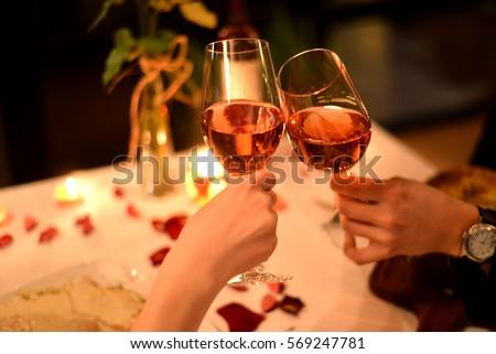Romantic dinner