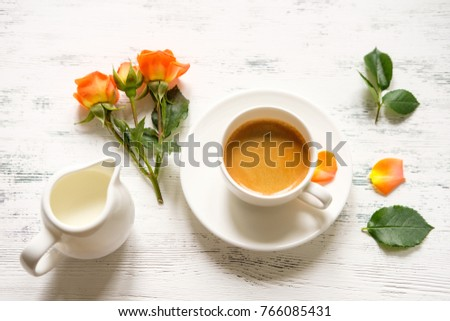 Romantic Good Morning Coffee #766085431
