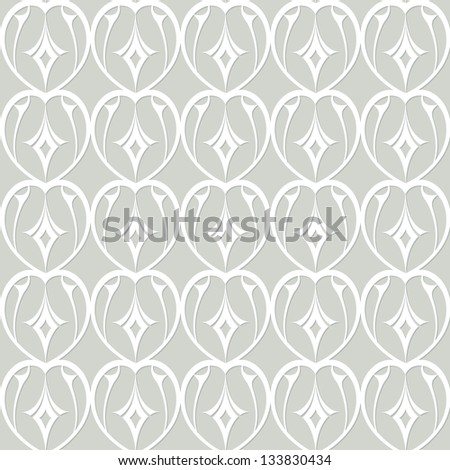 romantic lacy seamless pattern (raster version of the vector)
