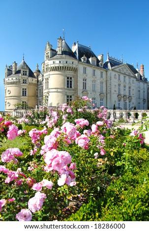 romantic Le lude castle -Loire valley