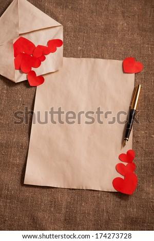 romantic letter