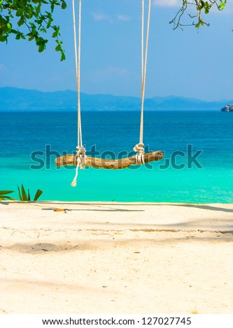 Romantic Place Tropical Scene