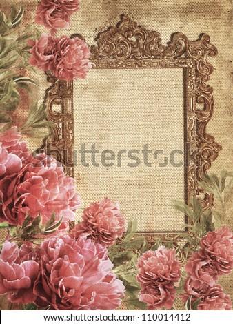 Romantic Vintage Photo Frame