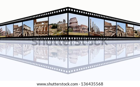 Rome Impressions Computer generated 3D illustration