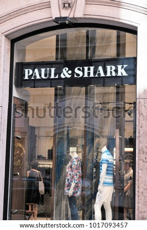 August Rome Italy Store And amp; Paul 2017 15 Is Shark TF6g5qwFx