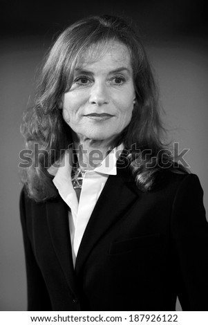 ROME, ITALY - OCTOBER 30: Isabelle Huppert attends \'Mon Pire Cauchemar\' Premiere at Auditorium Parco della Musica on October 30, 2011 in Rome, Italy