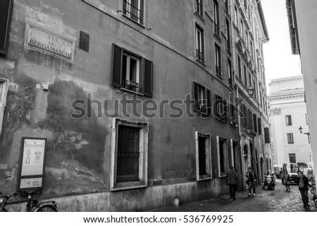Rome Italy - Roma Italia #536769925