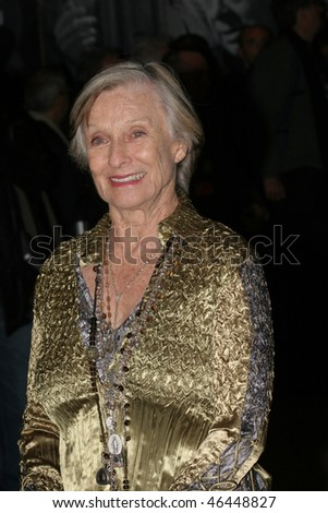 ROME - OCTOBER 22: Cloris Leachman attends the 'Actors Studio Le Ragazze Degli Anni 70' premiere during Day 5 of the 2nd Rome Film Festival on October 22, 2007 in Rome, Italy.